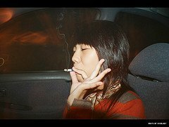 smoking and driving